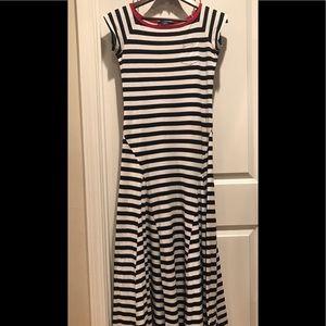 Ralph Lauren striped maxi dress